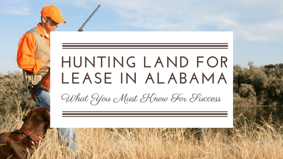 hunting land for lease in alabama